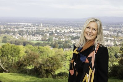 Deena Hyatt, Branch Manager, Leckhampton estate agents